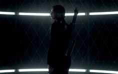 Official still image of Jennifer Lawrence as Katniss Everdeen in #TheHungerGames #Mockingjay Part 1