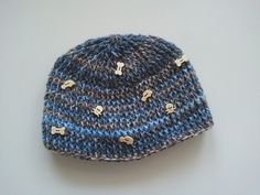 #DIY #Crochet baby boy #hat - super quick crochet #project