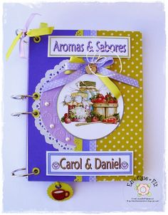 Livro de Receitas Carol