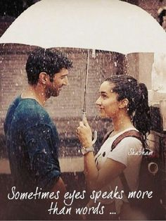 Exactly👍Adi and Shraddha in Ok Jaanu Movie Love Quotes, Rain Quotes, First Love Quotes, Love Quotes Photos, Funny Girl Quotes, True Love Quotes, Romantic Love Quotes, Couple Quotes, Bollywood Love Quotes