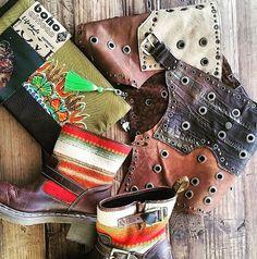 Boho chic combine leather belt-skirt  Boots& clutch #boot #clutchbags #belt #skirt #leathers #bohochic #bohemian #festivalzamani #goa#ibiza #africa #followme #instalike #handmade #stylish #readytowear #festival #boutique #hippiechic #ethnic #lifestyle
