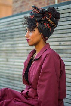 "Symone, 24, Highline Park WrapCentury- "" Colored Raw…#BeautyTalk"