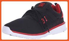 DC Heathrow Skate Shoe, Black/Red, 12 M US - Athletic shoes for women (*Amazon Partner-Link)