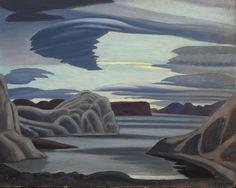 lawrenceleemagnuson: Lawren Harris (1885-1970)Lake Harbour, South Shore, Baffin Island, Morning (1930) oil on beaverboard 30.2 × 38.2 cmNational Gallery of Canada, Ottawa