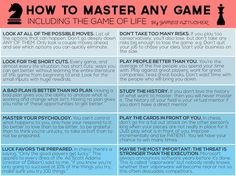 How To Be The Best At Any Game In The Universe — Life Tips. — Medium
