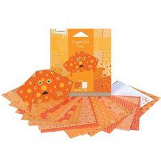 Papier origami Color 20 feuilles AVENUE MANDARINE : Chez Rentreediscount Loisirs créatifs Origami Simple, Movie Posters, Color, Creation Activities, Creative Art, Leaves, Creative Crafts, Film Poster, Colour