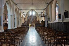 Eglise Saint-Martin -  .Saint-Valery-sur-Somme. Picardie