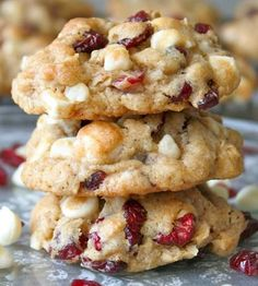 White Chocolate Chip Cranberry Oatmeal Cookies – Easy Recipes