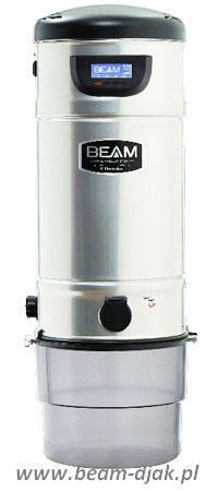 Odkurzacz Centralny BEAM SC 398 LCD.