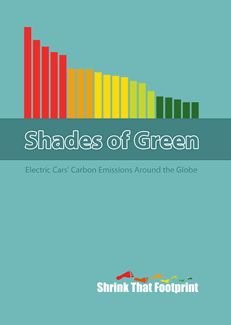 Shades of Green compares the carbon emissions of electric cars using grid electricity in 20 of the worlds major countries