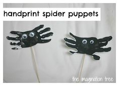 spider puppet craft | Incy Wincy Itsy Bitsy Spider Activities and Resources