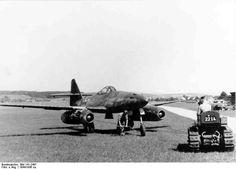 """Me 262 A-1a """"White 3"""" W.Nr. 500071"""