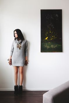 Sweater Style  cc: S