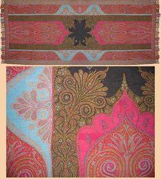 antique Persian fabric