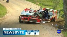 THE driver of a 4WD rally car that crashed at high speed in the Adelaide Hills on Sunday, leaving his co-driver with serious injuries, has recalled the horrifying seconds before the accident.