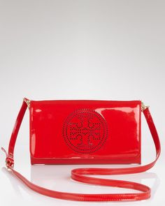 Tory Burch Clutch - PERFORATED Logo