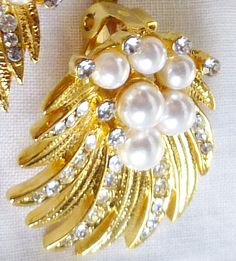 1950's Vintage Pin Up Rockabilly Gold Pearl by LauraDarlingDeluxe, $22.00
