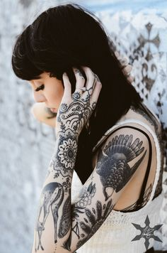 More awesome tattoo designs at my blog! Hannah Pixie