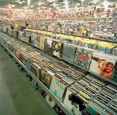 I loved going to the record store, Dad took us every Saturday!