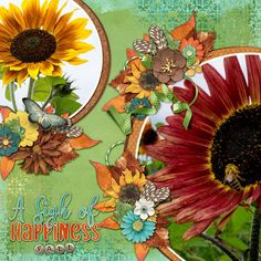 Sigh of Happiness - Fall: digital layout made by CT artist Tanya featuring Digital scrapbooking kit from Sherwood Studio SEPTEMBER SIGHS http://www.thedigichick.com/shop/September-Sighs-Bundle.html and template Sherwood Studio THE PHOTO PROJECT - SEPTEMBER SIGNS (included in the bundle)