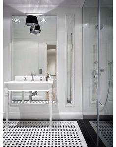 Apartament w Warszawie 3 - aranżacja łazienki