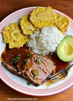 Posta Negra is another traditional and delicious Colombian dish from the Atlantic Coast of the country. It contains beef, cooked in a dark sauce made with Cola, Colombian Dishes, My Colombian Recipes, Colombian Cuisine, Meat Recipes, Mexican Food Recipes, Cooking Recipes, Healthy Recipes, Ethnic Recipes, Columbia Food