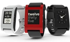Pebble smart watch | e paper watch for iphone and android