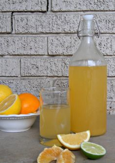 homemade gatorade/pedialyte drink easy to make and no artificial ingredients! thesproutingseed.com
