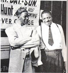 Elmore James y Sonny Boy Williamson II
