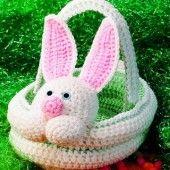 Osterkörbchen Hasen Im Gras Selber Häkeln Hol Dir Jetzt Die