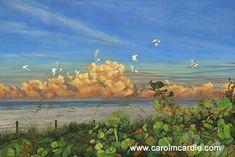 """Soar Into Dawn"" Oil 40"" x 60"" SOLD - Prints available. Contact carol@carolmcardle.com"