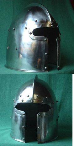 Medieval Barbute helmet 15th century