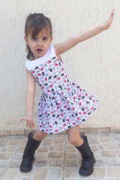 Vestido Infantil clássico