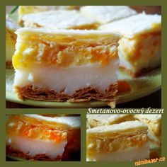 Smetanovo-ovocný dezert