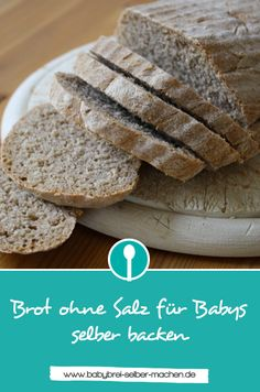 Make bread without salt for babies themselves- Brot ohne Salz für Babys selber machen Recipe for bread without salt. This delicious wholegrain bread is very easy to bake and suitable for babies and toddlers. Baby Food Recipes, Mexican Food Recipes, Bread Recipes, Cooking Recipes, Smoothies For Kids, Healthy Smoothies, Smoothie Recipes, Toddler Meals, Kids Meals