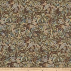 Mount Vernon Forest Trail Forest from @fabricdotcom  This lovely woven fabric is perfect for draperies, valences, and upholstery projects.  Fabric features 15,000 double rubs.