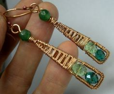 Wire wrapped | http://coolbraceletscollections.blogspot.com
