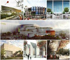 Galería - Finalistas del Concurso Nacional de Arquitectura Papalote Museo del Niño Iztapalapa / México - 1