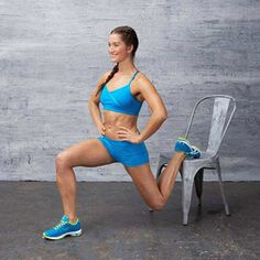 Love Your Legs Workout - Targets butt, quads, inner thighs, and hamstrings!