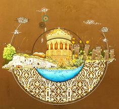 Hülya Aziz-Ahlat, 2014. #hulyaaziz #ahlat #minyatur #miniature #tezhip #illumination #art #selcuklumezarligi #kumbet #mezartaslari #suphandagi