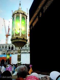 Kaba Lantern (al-Masjid al-Haram, Makkah, Saudi Arabia)