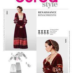 Burda Style Pattern 7171 Renaissance