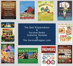 Customer Reviews of best books on: Disaster Preparedness - Outdoor Survival - Self Reliance - Food Storage Cooking - Self Protection - Outdoors Cooking - Camping - and more... at The Survival Prepper.com
