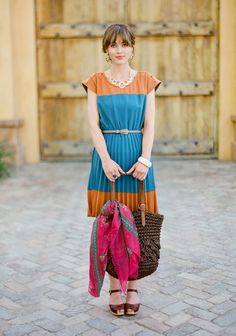 Country Club Pleated Dress | Modern Vintage New Arrivals