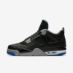 0e38eb6407c7 Air Jordan 4 Soar Blue Release Date. This Air Jordan 4 features a Black  leather upper
