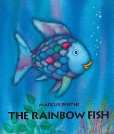 A board book edition of a popular modern classic follows the tale of a beautiful iridescent fish, who suffers a life of loneliness until he decides to share his glittering scales with a catch of new f