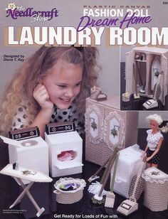 Dream Home 933722 Laundry US $14.97 Used in Crafts, Needlecrafts & Yarn, Needlepoint & Plastic Canvas