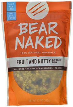 Bear Naked Granola Pouches Fruit and Nutty 12 Ounce Pack of 6 * Click on the image for additional details. (Note:Amazon affiliate link)