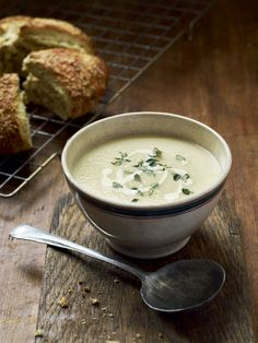 This creamy soup is great as a starter, but just as good for a comforting supper in front of the fire