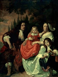 1669 Bartholomeus van der Helst - The Reepmaker Family of Amsterdam